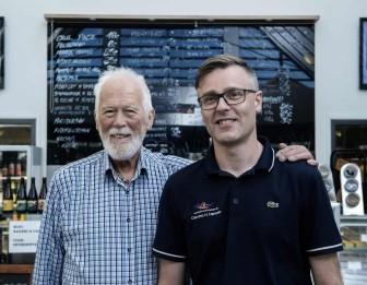 Købmand Hansen ejer af Lindvig Ferie